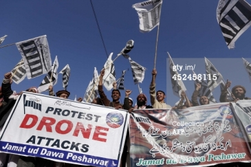 Drone protesters